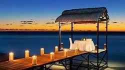 毛里求斯瑞吉·栈桥晚餐
