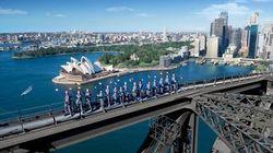 在大桥之巅,拥抱悉尼!