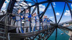 从桥巅俯瞰悉尼经典一刻