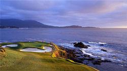 加州圆石滩高尔夫球场