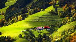 德国最大的森林山脉-黑森林