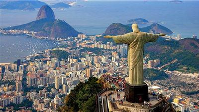 里约热内卢  地标:基督神像山