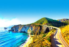 发现更美加州