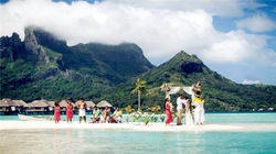 波拉波拉岛-浪漫婚礼