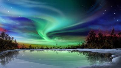 浪漫北极光