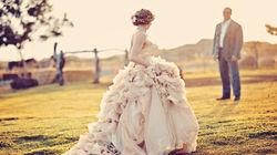 牧场唯美婚纱拍摄