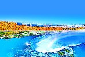 加拿大迎秋