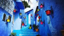蓝色小镇--舍夫沙万