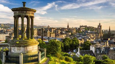 苏格兰首府-爱丁堡