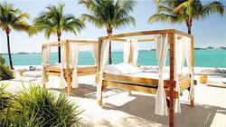 文华东方酒店私人海滩尽享佛州日光浴