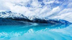 库克山湖水