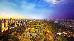 美丽中央公园-从清晨到夜晚