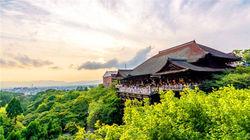 绿丛环绕清水寺
