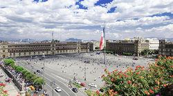 墨西哥老城中心广场