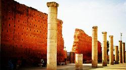 哈桑塔清真寺外墙