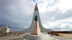 冰岛地标建筑--哈尔格林姆斯教堂