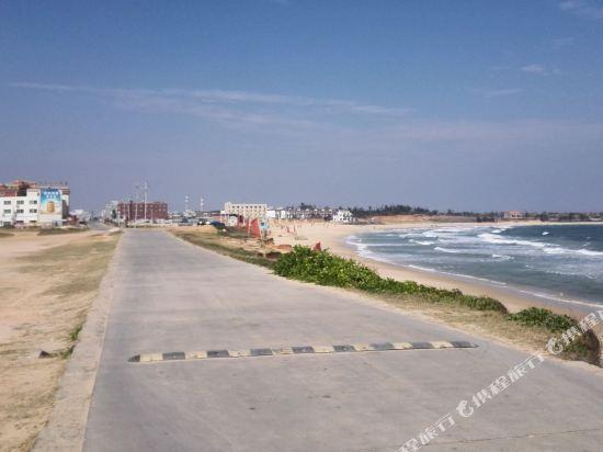 汕尾红海湾遮浪旅游区通南路峰泉渔港正对面