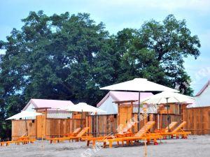 Beach Spring Tent Campsite