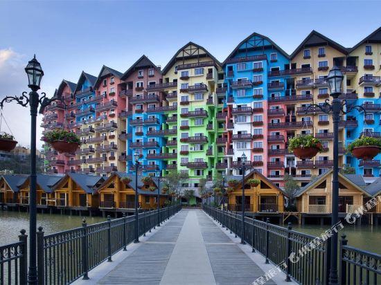 河源巴伐利亚美思皇家度假酒店1晚 双人早餐 黑森林欢乐世界门票图片
