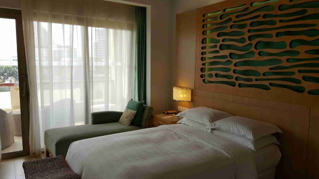 三亚海棠湾喜来登度假酒店点评