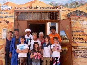 Bivouac Maroc Désert Zagora