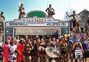 아하 레세디 컬처럴 빌리지(aha Lesedi African Lodge & Cultural Village)