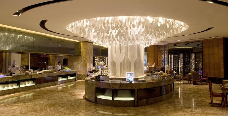 佛山保利洲际酒店1晚,千灯湖旁国际五星,可静观秀美的景观运河和
