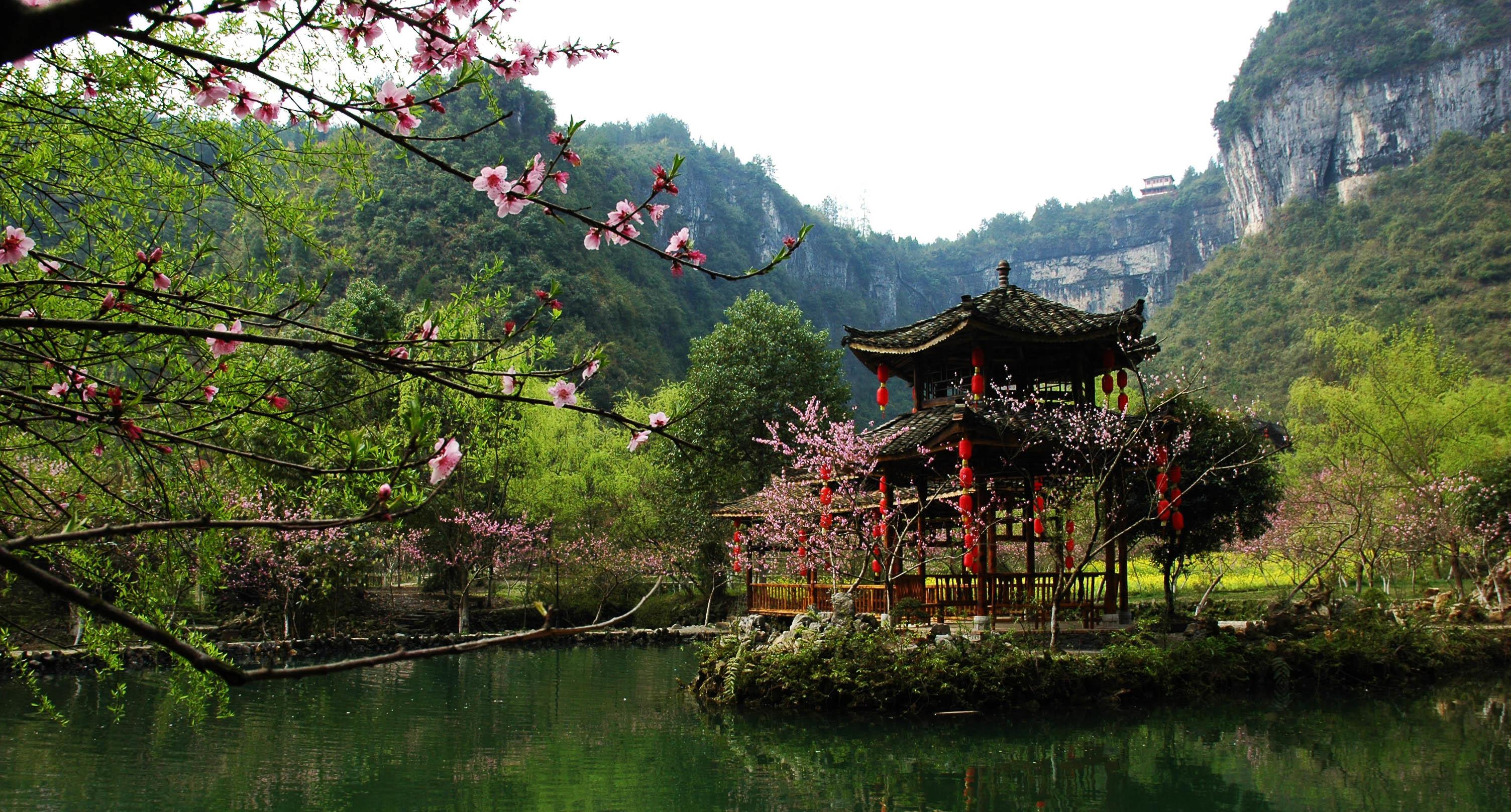 湖南简笔画的人文风景