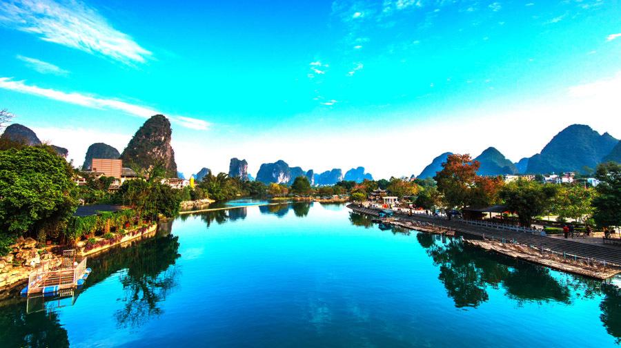 设桂林风景桌面壁纸