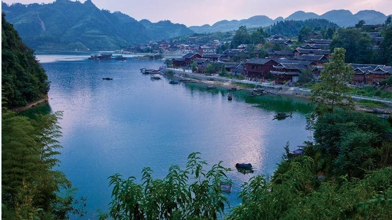 重庆桃花源景区旅游景点简介,图片,旅游信息推荐-2345