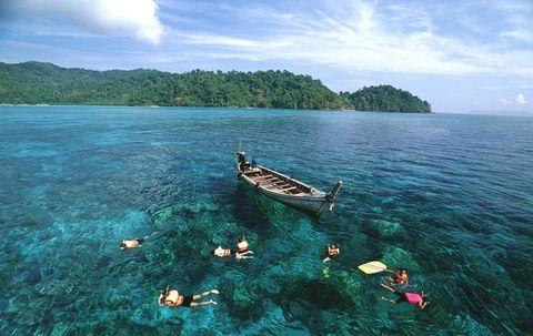 泰国曼谷 芭提雅 普吉岛10日8晚跟团游(4钻)·沙美岛