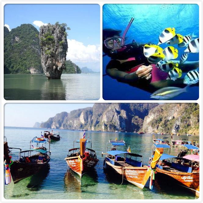 摄影之旅·泰国普吉岛6日5晚跟团游·e3直飞