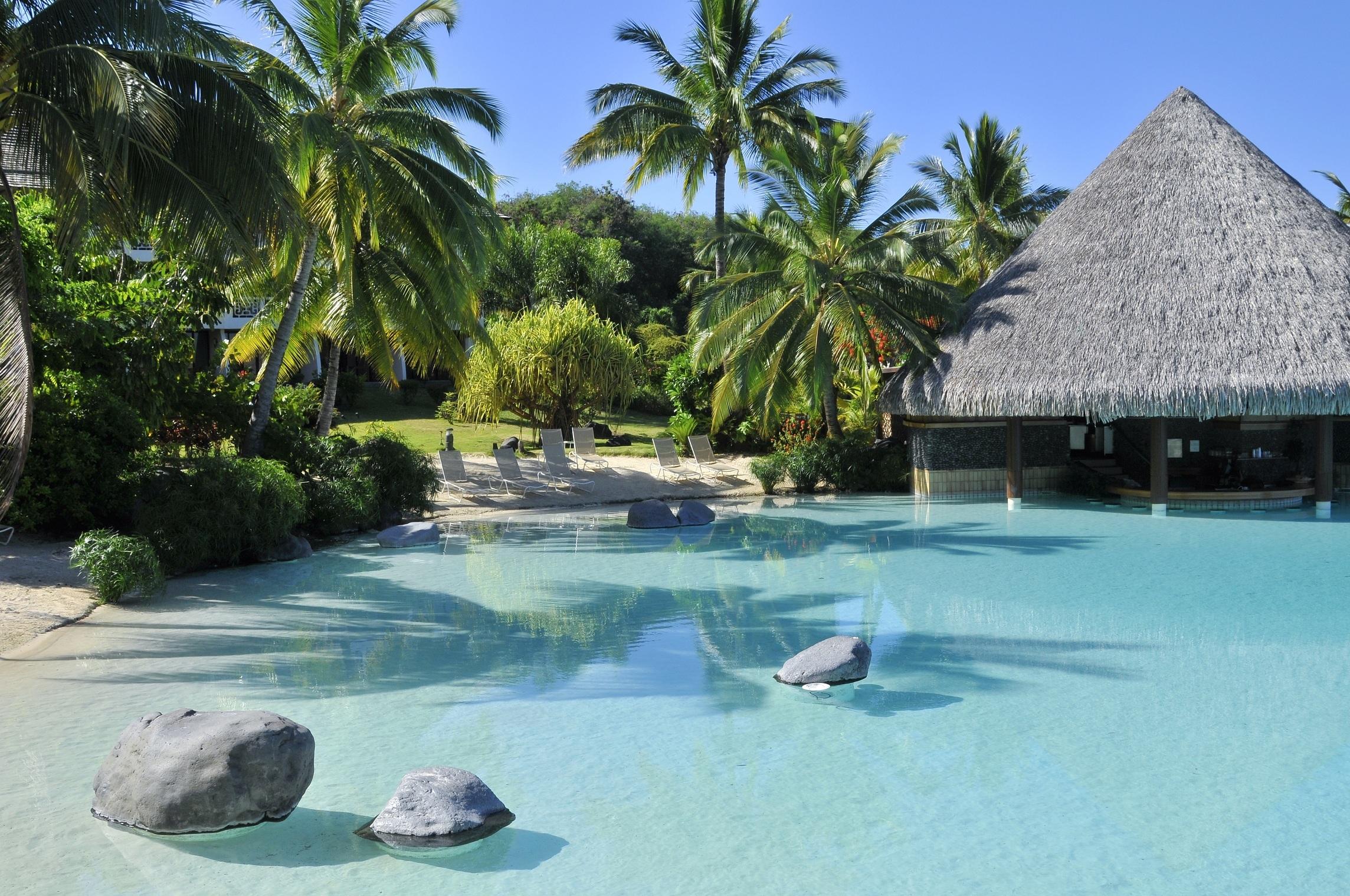大溪地岛8日6晚自由行·蜜月游 沙滩别墅和水上小屋入住 尽享受