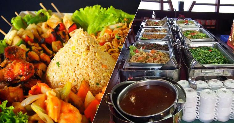 餐食全面升级★:蓝梦岛上自助餐
