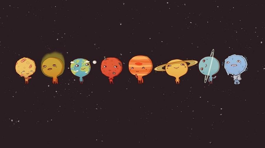 太阳系八大行星-另送价值199元鲨鱼公园盒子一个,发现 我的彩色星球