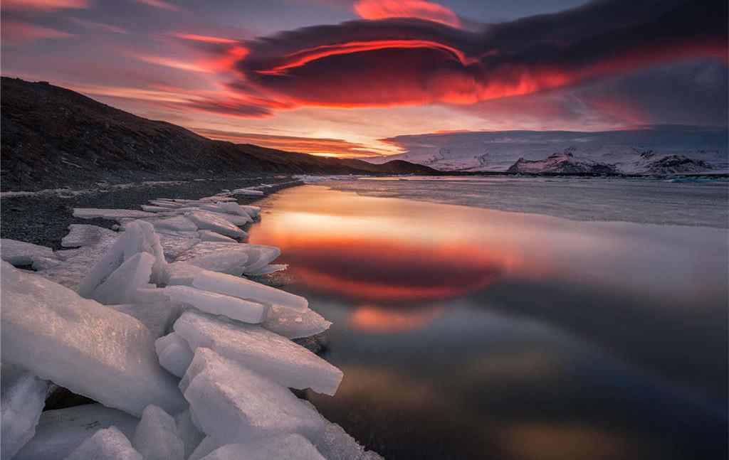 自然探索·冰岛冬季极光+斯奈半岛+黄金圈+蓝湖+蓝冰