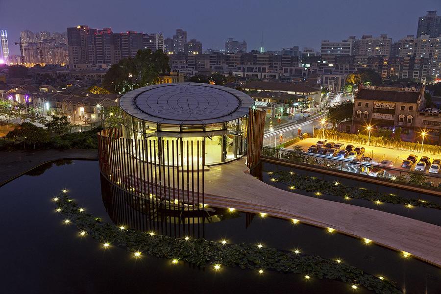 俯视   夜景 欧式    建筑