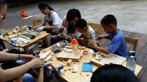 儿童农庄一日:亲子马术体验 苗族扎染 小小木工!图片