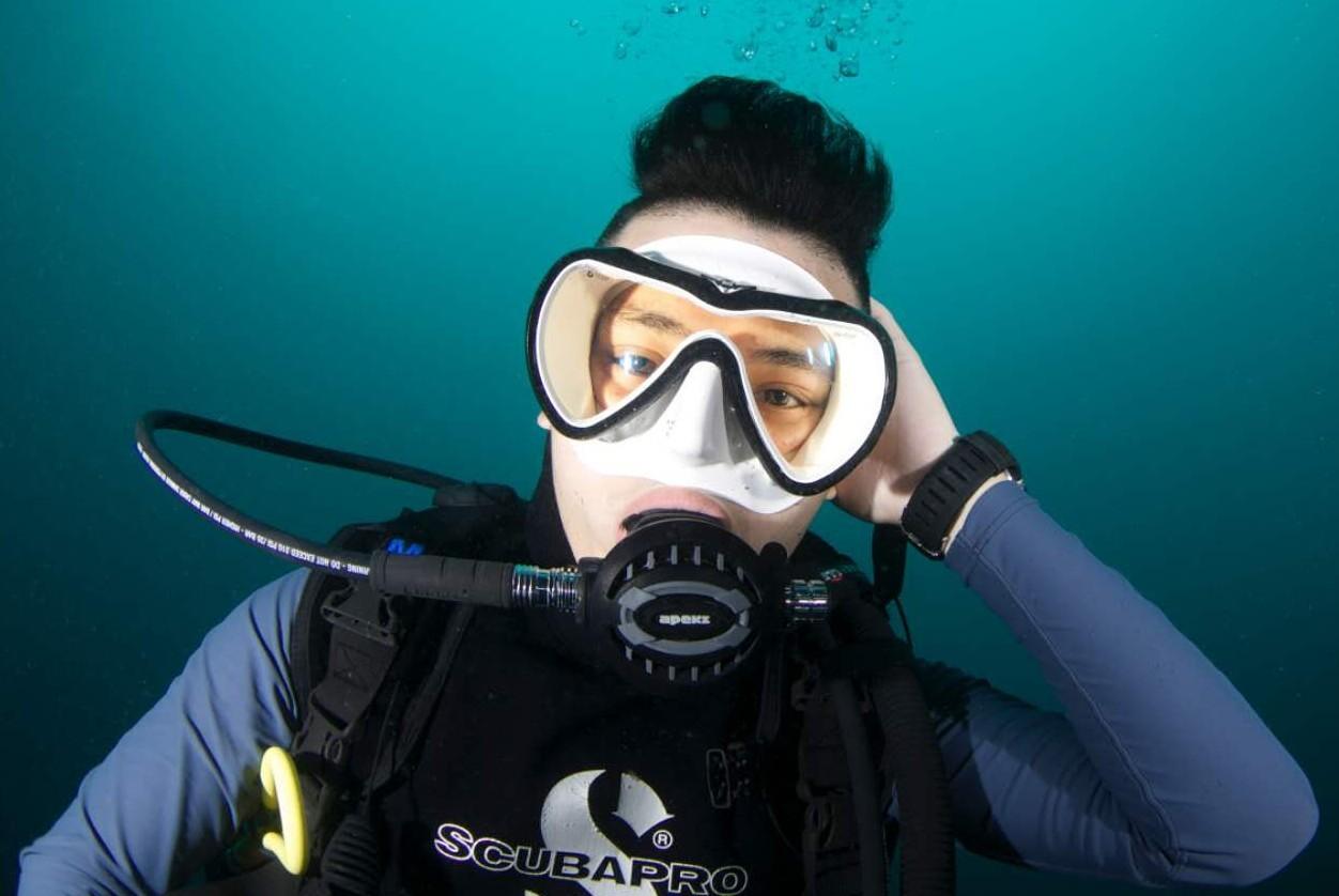 【padi教练亲授】潜水小超人探秘海底世界3天课时