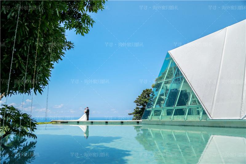 畅玩蓝梦(含1晚岛上木屋别墅)+梦幻沙滩