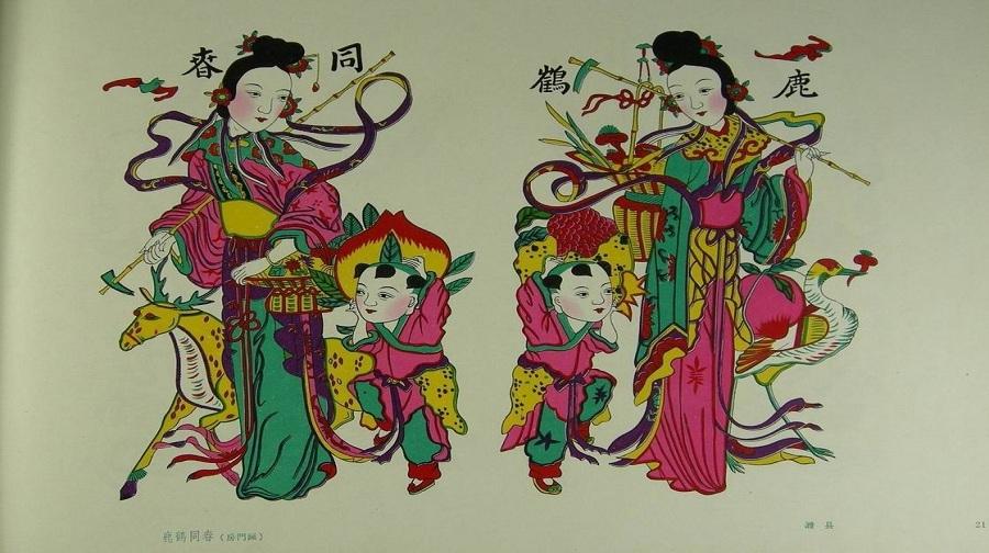 木板年画 制作挂历,把传统文化带回家!