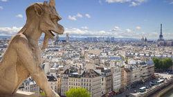 圣母院俯瞰巴黎