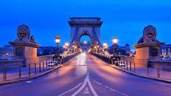链子桥夜景