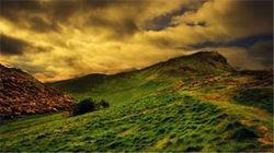 爱丁堡日落