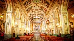 圣地亚哥教堂内景