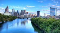费城市区景观