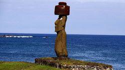复活节岛石像