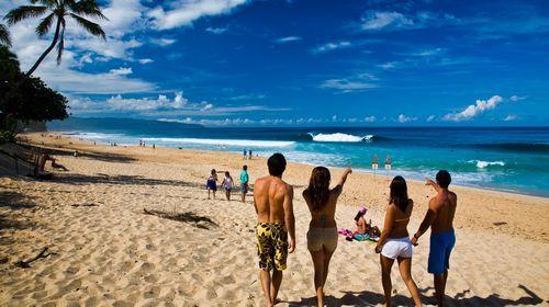 夏威夷海滩
