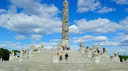 维格兰雕塑公园生命柱