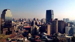 圣地亚哥的城市景致